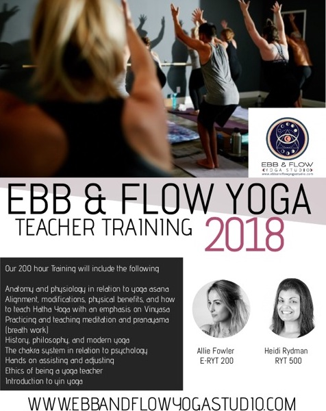 Teacher Training at Ebb & Flow